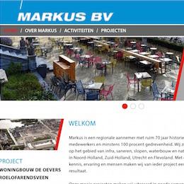 Nieuwe huisstijl Markus Amsterdam GWW Infra aannemer Boskalis